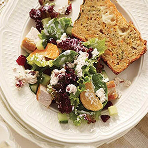 Turkey and Cranberry Salad with Boursin Cranberry & Spice Cheese